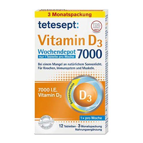 tetesept Vitamin D3 7000 hochdosiert