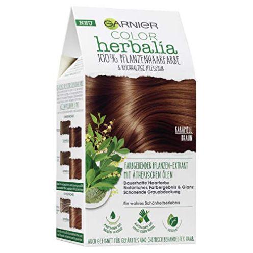 Garnier Color Herbalia Karamellbraun Pflanzenhaarfarbe