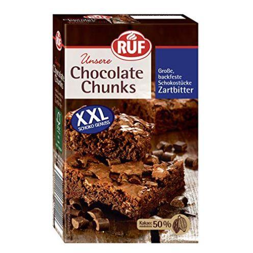 RUF Chocolate Chunks Zartbitterschokolade Backmischung