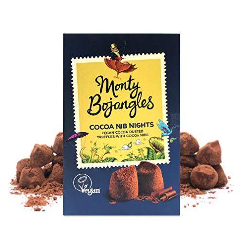 Monty Bojangles Nib Nights Vegane Kakao bestäubte Pralinen