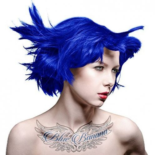 MyPartyShirt Rockabilly Blue Manic Panic Vegan Haarfarbe