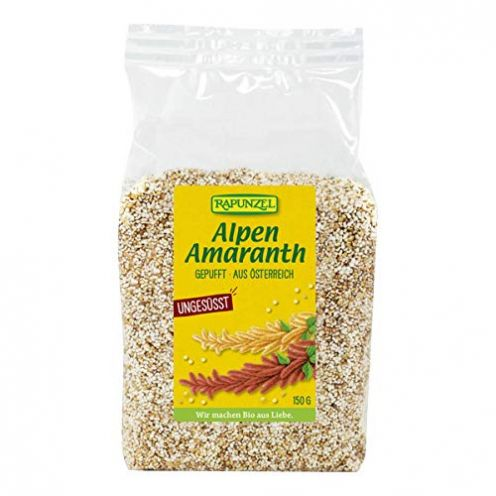 Rapunzel Alpen-Amaranth gepufft