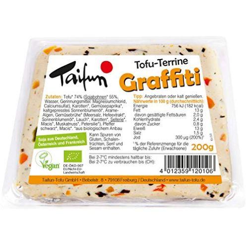 """Taifun Bio Tofu-Terrine """"Graffiti"""""""