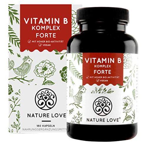 NATURE LOVE Vitamin B Komplex Forte Tabletten