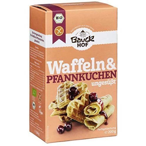 Bauckhof Bio Waffeln & Pfannkuchen glutenfrei Bio
