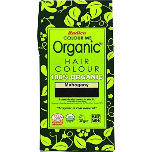 Radico Colour Me Organic Pflanzenhaarfarbe Mahagoni