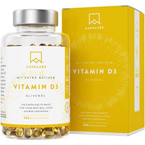 Aava Labs Vitamin D3 [ 5000 IE ] Depot