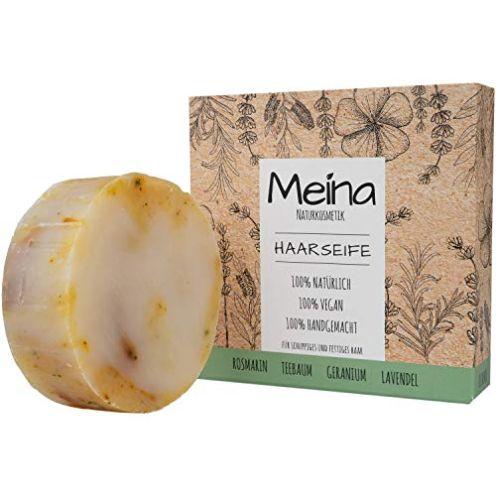 Meina - Haarseife Naturkosmetik für fettiges Haar