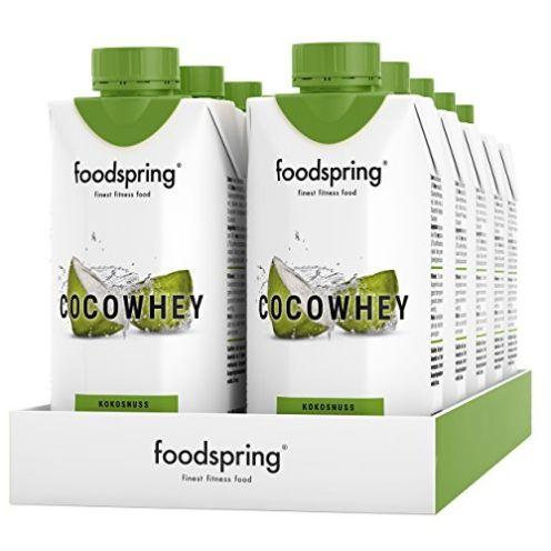 foodspring CocoWhey mit Kokosnuss
