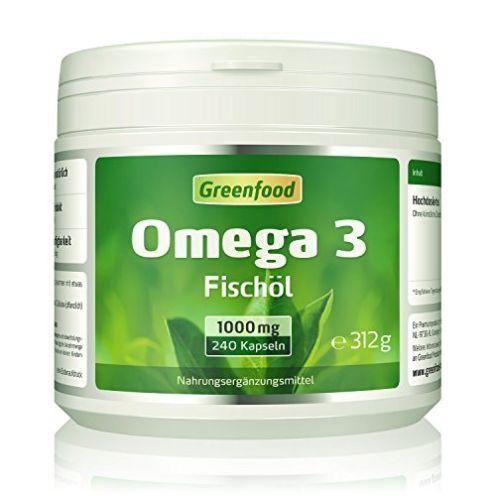 Greenfood Omega 3 Fischöl