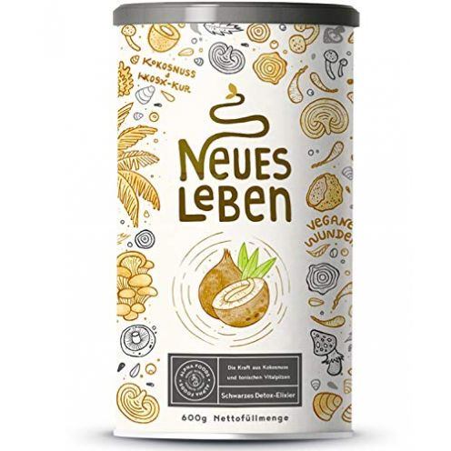 Alpha Foods Neues Leben | Schwarzes Detox-Elixier