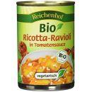 Reichenhof Ricotta-Ravioli in Tomatensauce