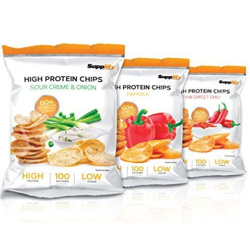 Supplify Protein Chips - Eiweiß Fitness Snack Mix Box