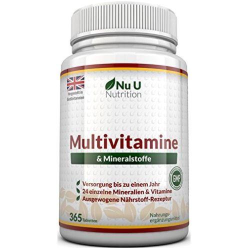 Nu U Nutrition Multivitamine und Mineralien