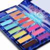 DE'LANCI Cosmetics mit 16 Lidschatten Pro Eye shadow