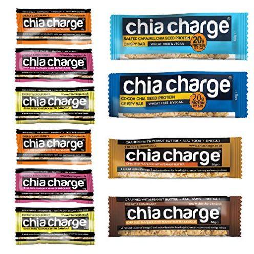 CHIA CHARGE Energieriegel und Proteinriegel vegan