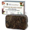 PraNaturals Organisch Afrikanische Schwarze Seife