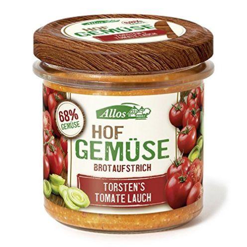 Allos Bio Hof-Gemüse Torstens Tomate Lauch Brotaufstrich