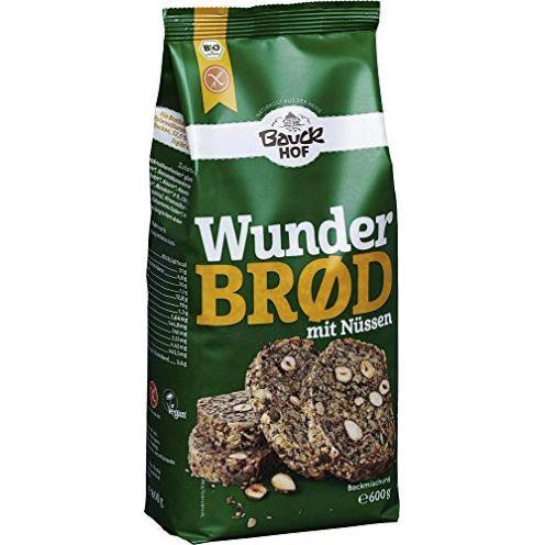 Bauckhof Bio Wunderbrd mit Nüssen glutenfrei Bio