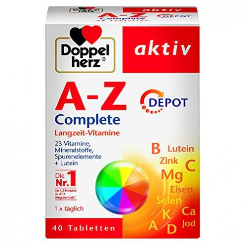 Doppelherz A-Z Complete DEPOT Langzeit-Vitamine