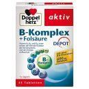Doppelherz B-Komplex DEPOT mit Folsäure