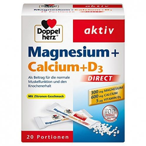 Doppelherz Magnesium + Calcium + D3 DIRECT Micro-Pellets