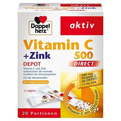 Doppelherz Vitamin C 500 DIRECT Micro Pellets
