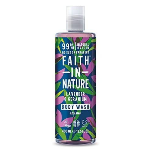 Faith in Nature Natürliches Lavendel & Geranie Duschgel