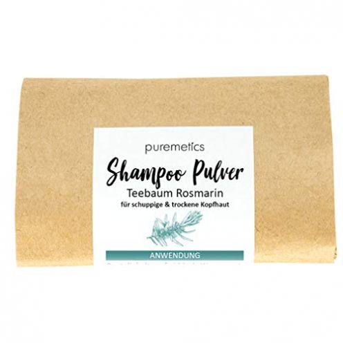 puremetics Zero Waste Shampoo Pulver Teebaum Rosmarin