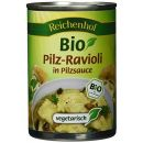 Reichenhof Bio Pilz Ravioli in Pilzsauce