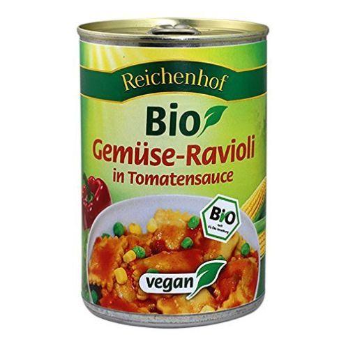 Reichenhof Reichenhof Gemüse-Ravioli in Tomatensauce vega