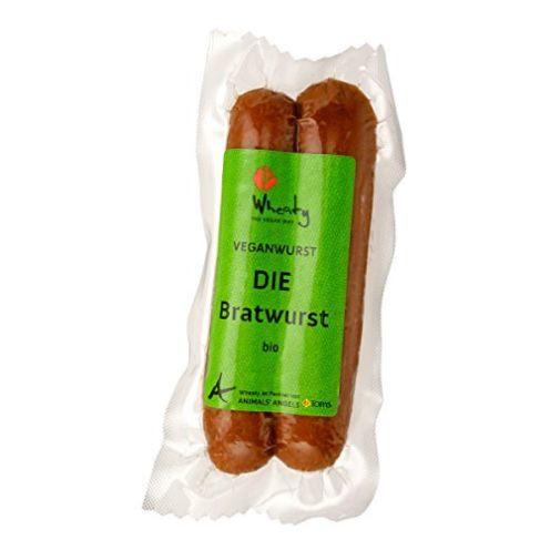 Topas Wheaty Bio Vegan Bratwurst