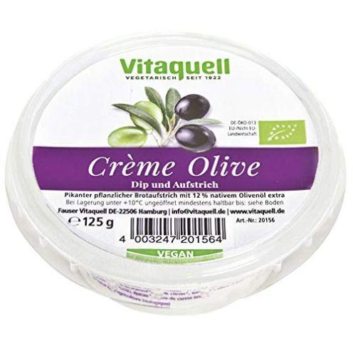 Vitaquell Bio Crème Olive - veganer Frischkäse