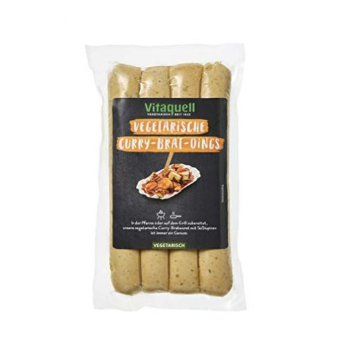 Vitaquell Curry Brat Dings vegetarisch