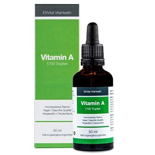 EXVital Vitahealth Vitamin A Tropfen