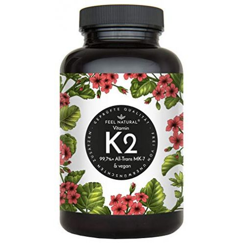 Feel Natural Vitamin K2 MK7-365 Kapseln