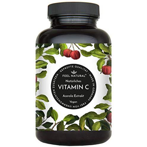 Feel Nature Acerola Kapseln Natürliches Vitamin C