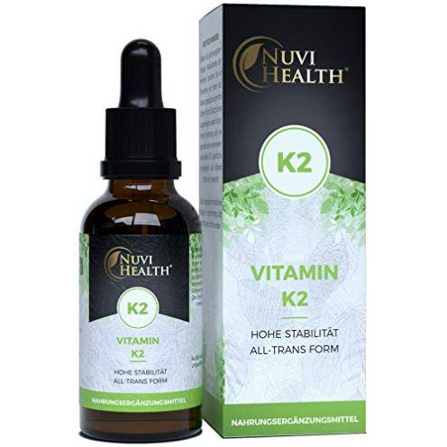 Nuvi Health Store Vitamin K2 MK7-200 µg