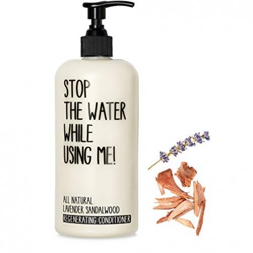 STOP THE WATER WHILE USING ME! All Natural Lavender Sandalwood Regenerating Conditioner