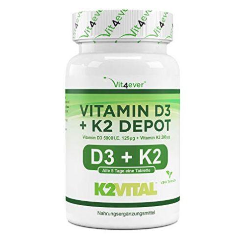 Vit4ever-Store Vitamin D3 + K2 Depot